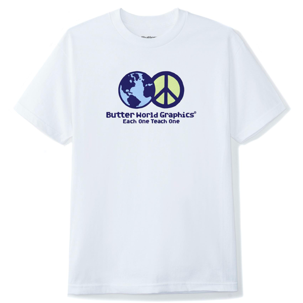 World Peace Tee  White