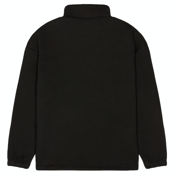 DECLINE QUARTER ZIP BLACK