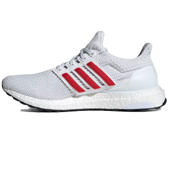 ULTRABOOST 4.0 DNA SHOES Cloud White / Scarlet / Core Black