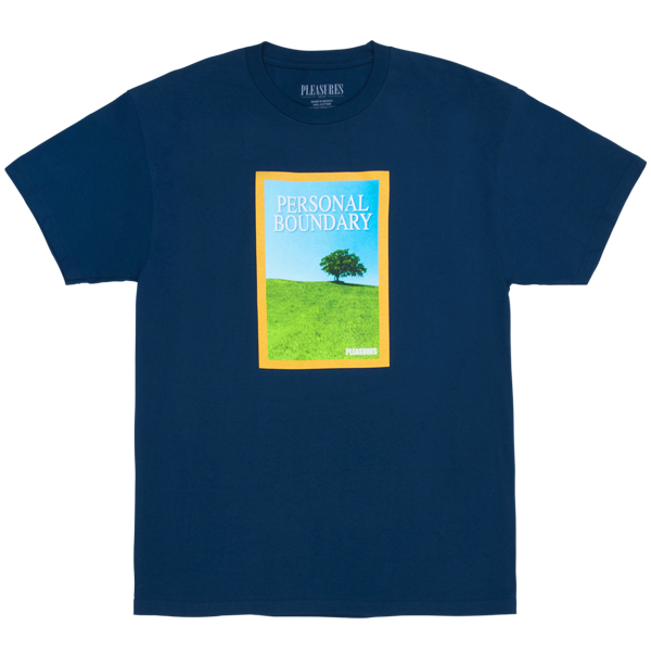 BOUNDARY T-SHIRT HARBOR BLUE