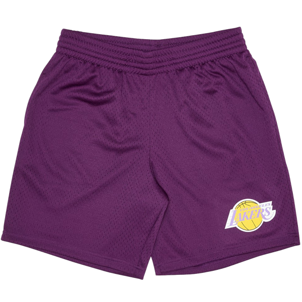 L.A LAKERS COURT SHORTS PURPLE