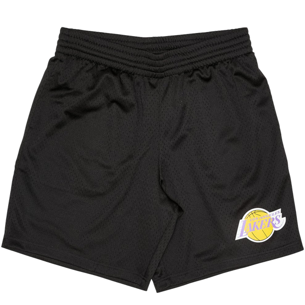 L.A LAKERS COURT SHORTS BLACK