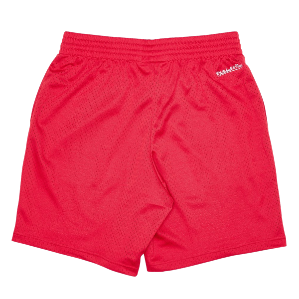 CHICAGO BULLS COURT SHORTS RED