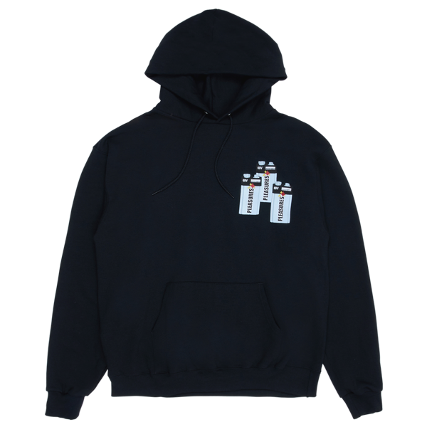 CHARGE CHAMPION HOODY BLACK
