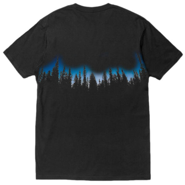 FOREST T-SHIRT BLACK