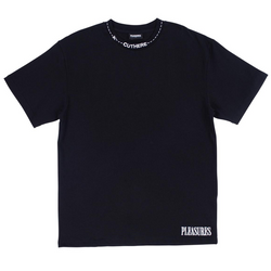 CUT HERE HEAVY WEIGHT SHIRT BLACK