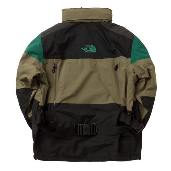 STEEP TECH APOGEE JACKET BURNT OLIVE GREEN/EVERGREEN/TNF BLACK