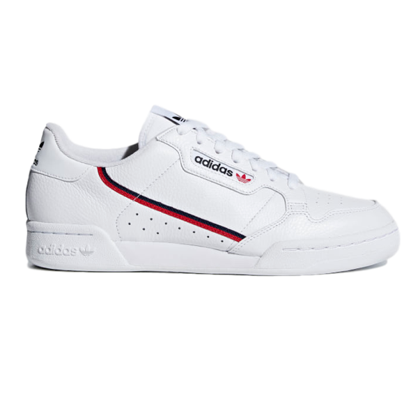 CONTINENTAL 80 CLOUD WHITE / SCARLET / COLLEGIATE NAVY