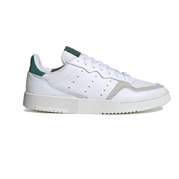 SUPERCOURT CLOUD WHITE / CLOUD WHITE / COLLEGIATE GREEN