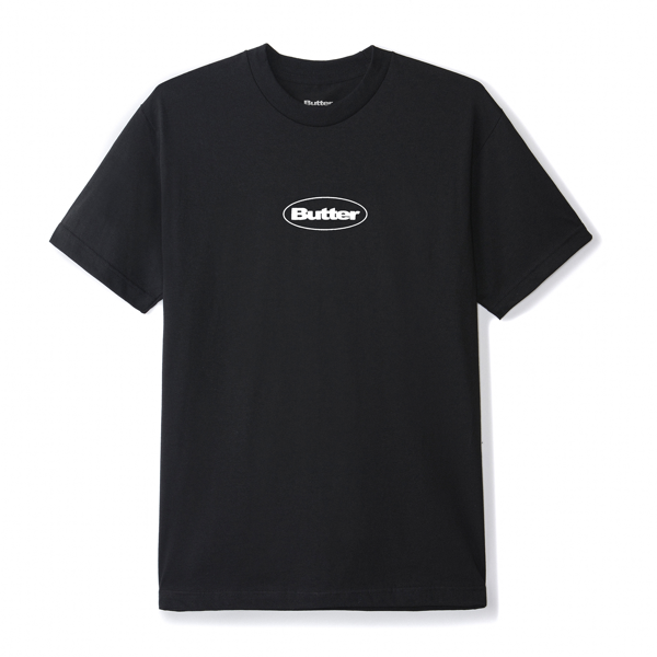 Puff Badge Logo Tee Black
