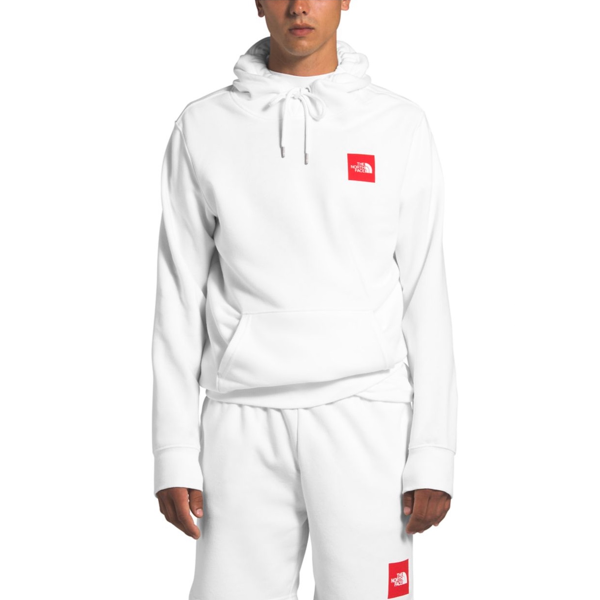 MEN'S 2.0 BOX PULLOVER HOODIE TNF WHITE