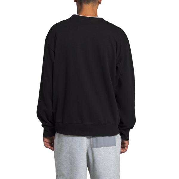 MEN'S TONAL DROP CREW TNF BLACK