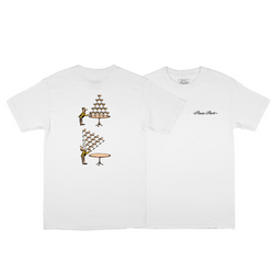 CHAMPERS TEE WHITE