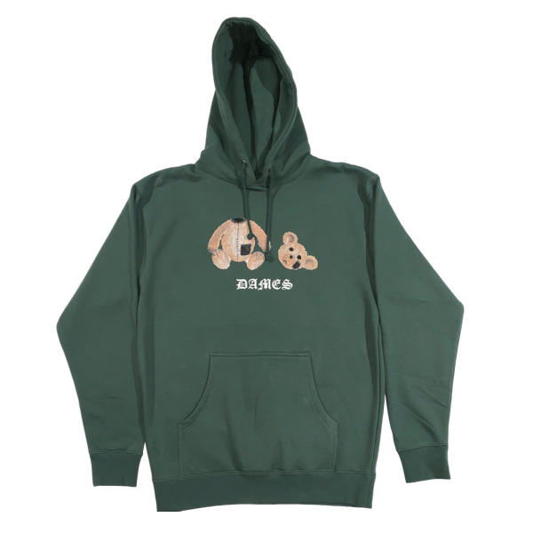 HEAD OUT OF THE GAME HOODIE ALPINE GREEN