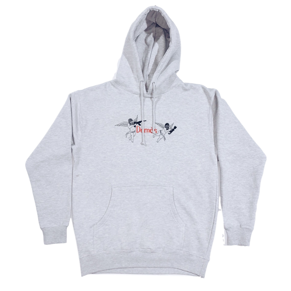 FRIENDLY FIRE HOODIE GREY