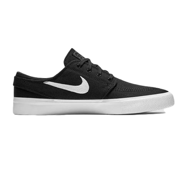 ZOOM JANOSKI CNVS RM - BLACK - WHITE /  THUNDER GREY