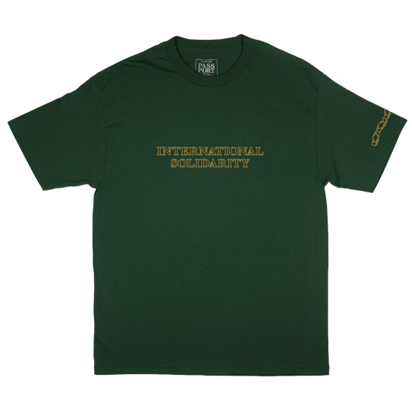 INTERSOLID TEE FOREST GREEN
