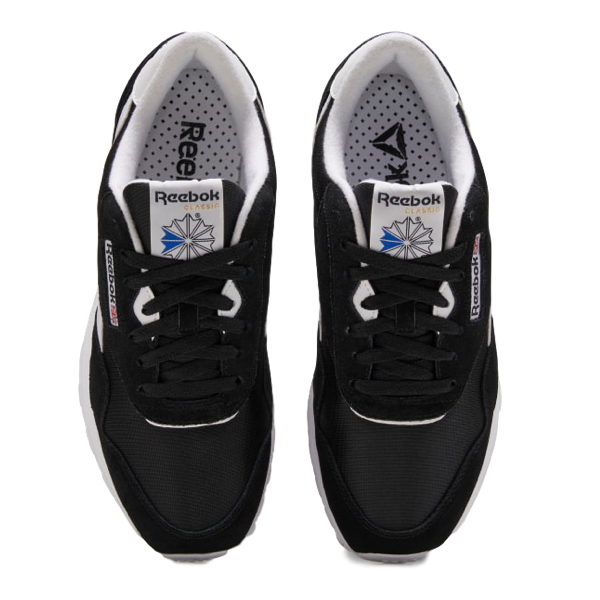 CLASSIC NYLON SHOES BLACK / BLACK / WHITE