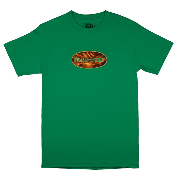 INLAY TEE KELLY GREEN