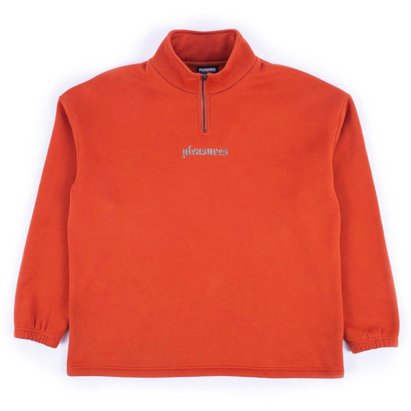 HARMONY QUARTER ZIP - ORANGE