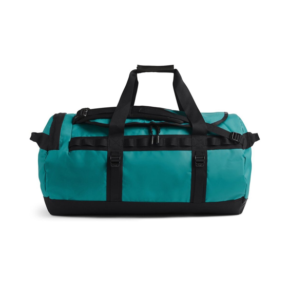 BASE CAMP DUFFEL - M FANFARE GREEN/ TNF BLACK