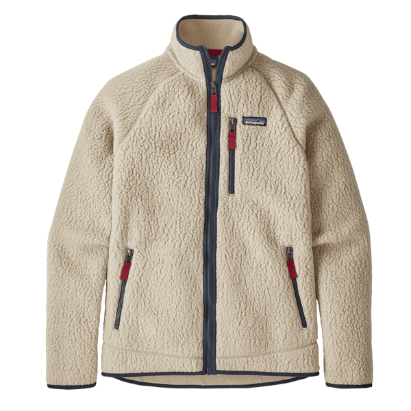 Men's Retro Pile Jacket El Cap Khaki (ELKH)