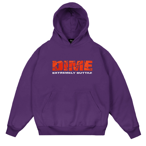 EXTREMELY BUTTAZ HOODIE PURPLE