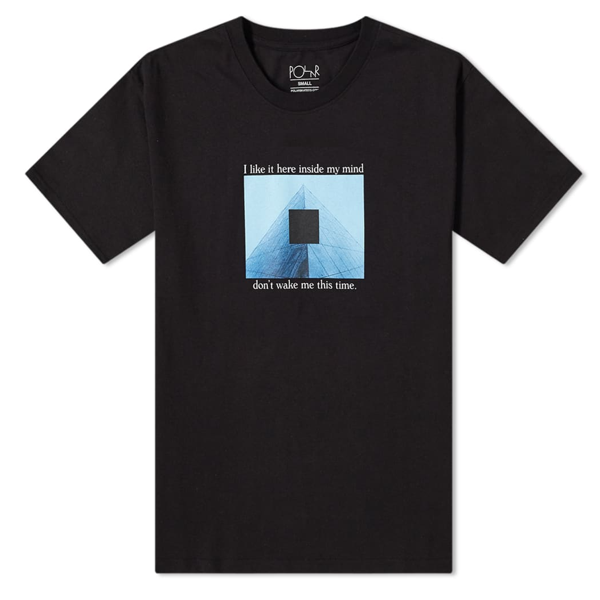 I Like It Here Tee Black