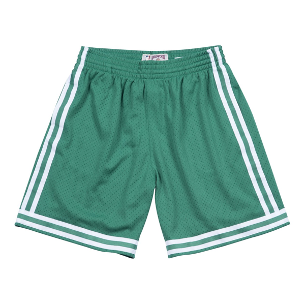 CELTICS 85/86 ROAD SWINGMAN SHORTS GREEN