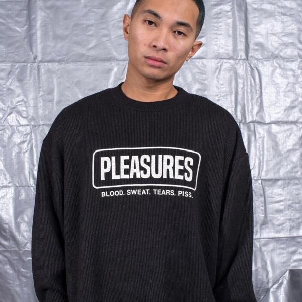 FRESNO KNIT LONG SLEEVE - BLACK