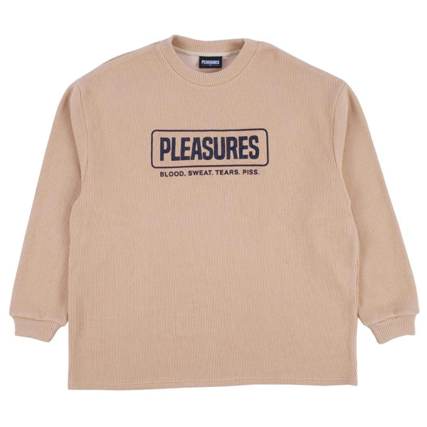 FRESNO KNIT LONG SLEEVE - TAN