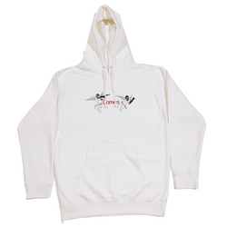 FRIENDLY FIRE HOODIE BONE