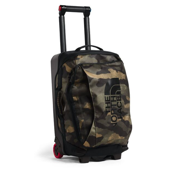 "ROLLING THUNDER-22"" BURNT OLIVE GREEN WAXED CAMO PRINT/TNF BLACK"