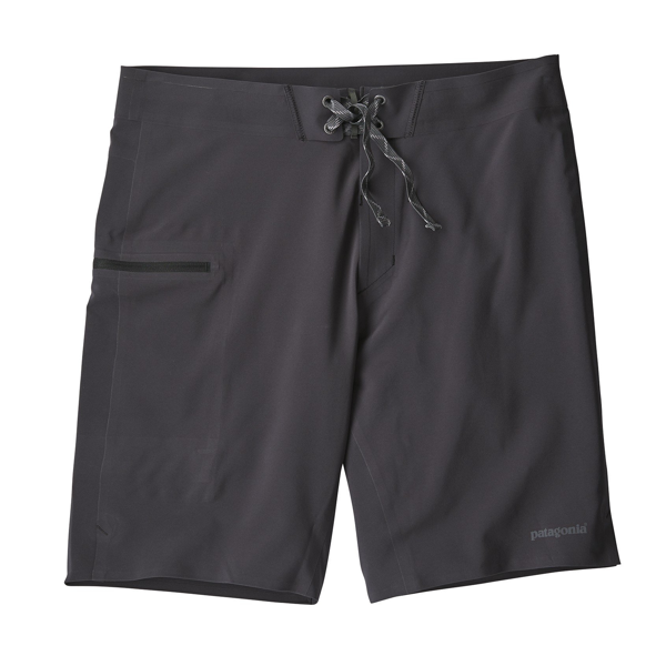 MENS STRETCH HYDROFLOW BOARDSHORT 19IN INK BLACK