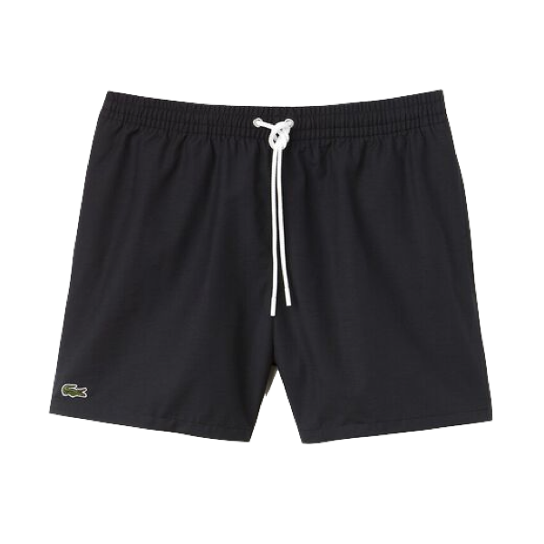 MEN'S BASIC SWIM SHORT BLACK/NAVY BLUE