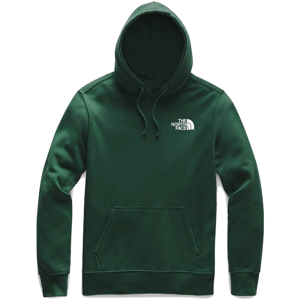 MEN'S RED BOX PULLOVER HOODIE NIGHT GREEN/TNF BLACK