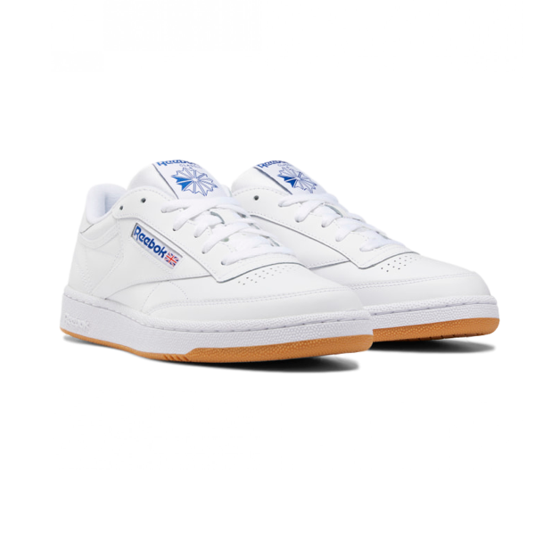 CLUB C 85 SHOES INTENSE WHITE / ROYAL-GUM