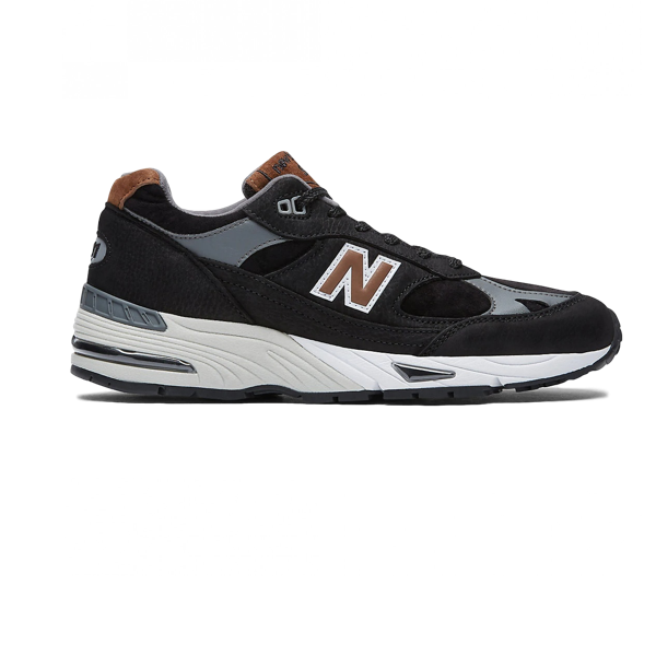 NEW BALANCE M991KT - MADE IN ENGLAND BLACK WITH BROWN