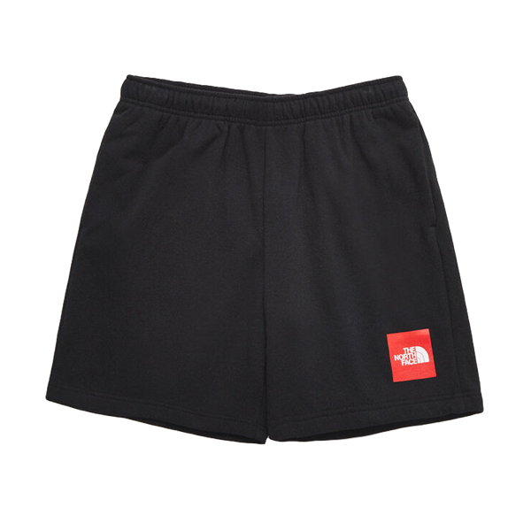 NEVER STOP SHORT TNF BLACK