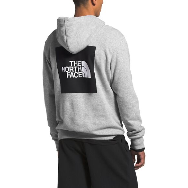 MEN'S 2.0 BOX PULLOVER HOODIE TNF LIGHT GREY HEATHER