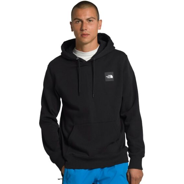 MEN'S 2.0 BOX PULLOVER HOODIE TNF BLACK