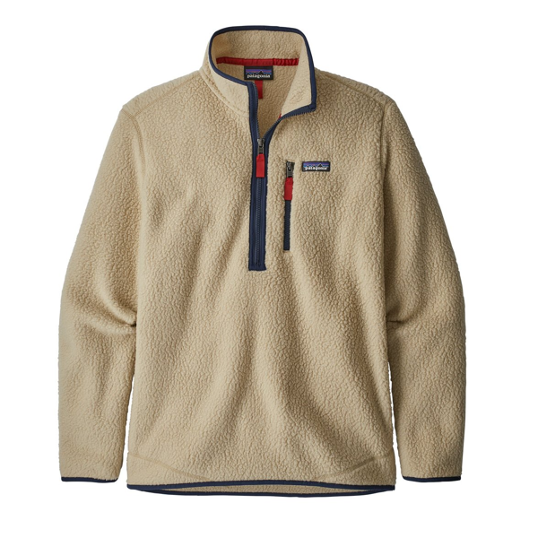 Men's Retro Pile Pull Over El Cap Khaki