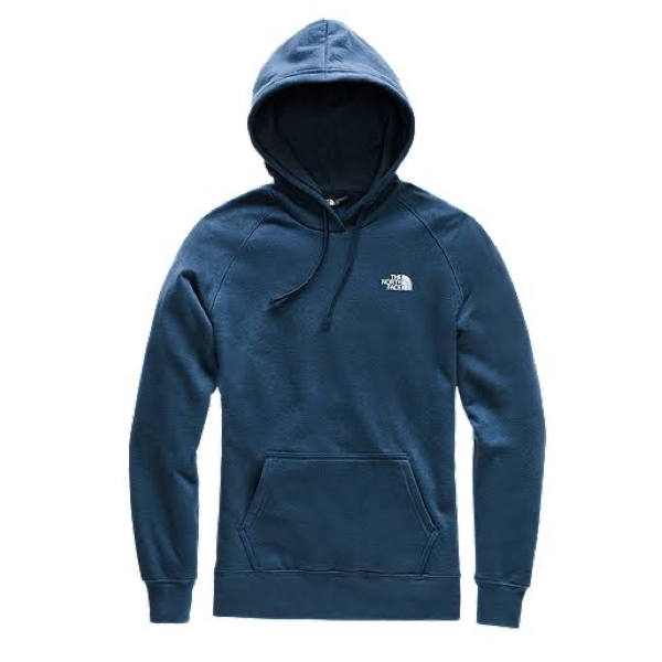 MEN'S RED BOX PULLOVER HOODIE BLUE WING TEAL