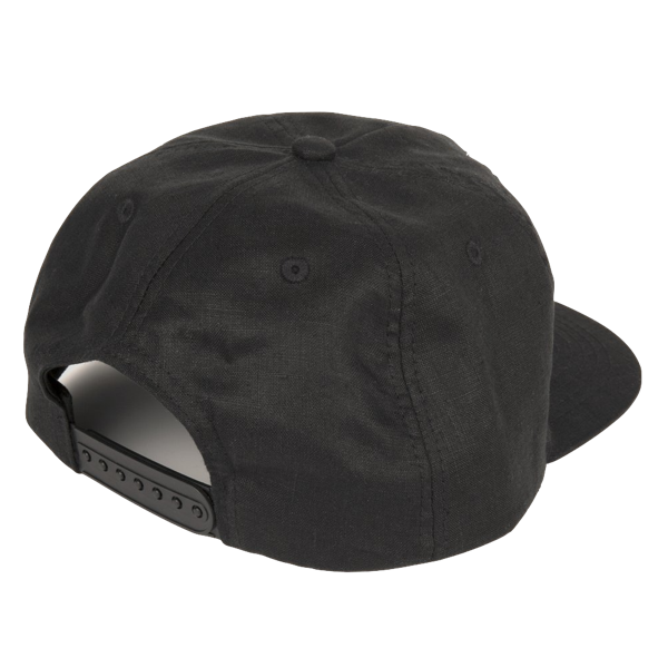 DINNER FOR ONE 5 PANEL CAP BLACK
