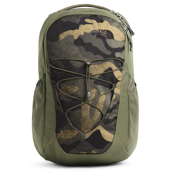"The North Face Jester 15"" Laptop Backpack - Burnt Olive Green Camo"