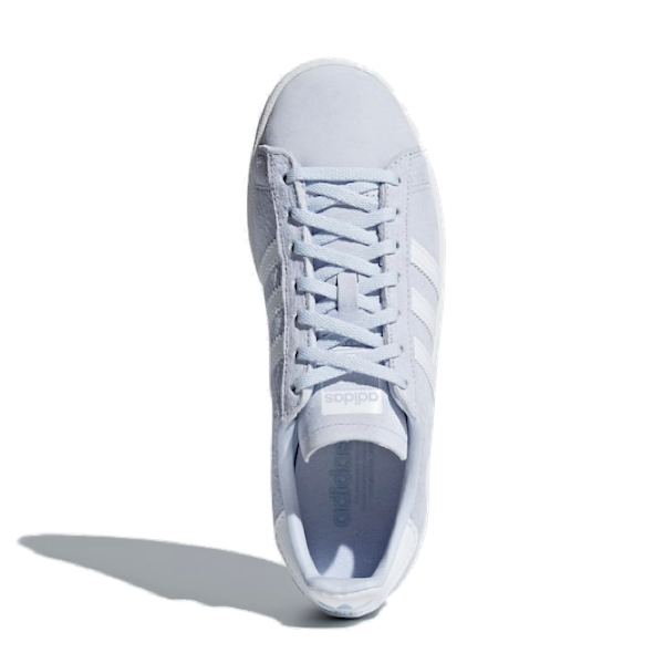WOMENS CAMPUS SHOES AEROBLUE / CLOUD WHITE / CRYSTAL WHIT