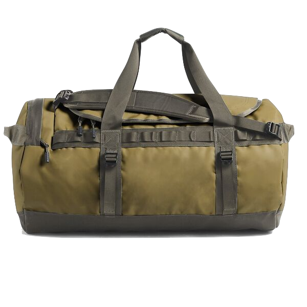 BASE CAMP DUFFEL - MEDIUM - KHAKI/ BROWN