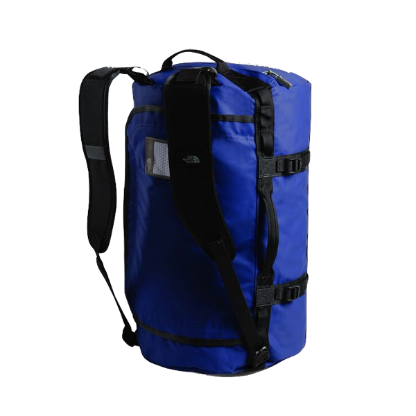 BASE CAMP DUFFEL - SMALL - BLUE/ BLACK