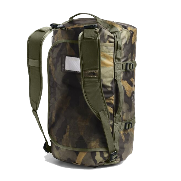 BASE CAMP DUFFEL - SMALL - BURNT OLIVE/ GREEN CAMO