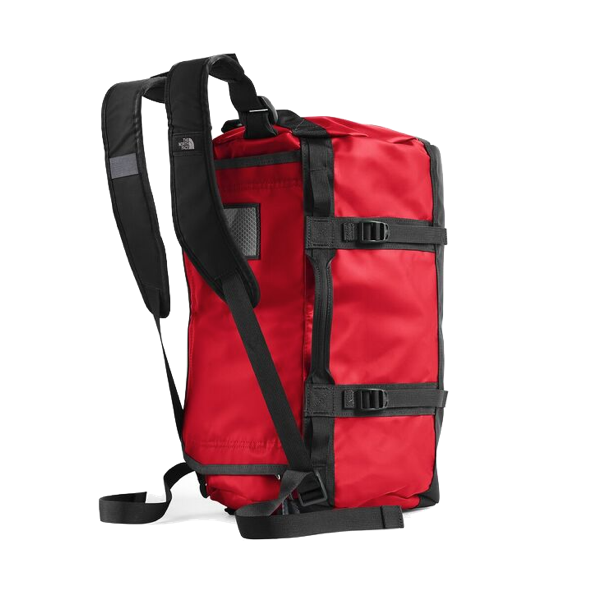 BASE CAMP DUFFEL - EXTRA SMALL - RED/ BLACK